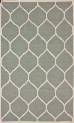 Rugs USA- light grey trellis